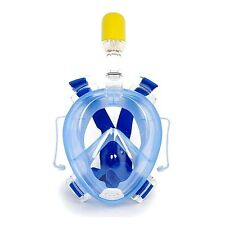 Underwater Scuba Anti Fog Full Face Diving Mask Snorkeling Set Earplug Snorkel