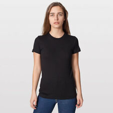 American Apparel Organic Fine Jersey Short Sleeve Women's T-Shirt - Black