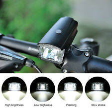 Led Bicycle Front Light Safety Bicycle Headlight Light 1200mAh USB Rechargeable