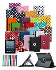 "For Amazon Kindle Fire 7"" 5th Gen (2015) - Rotating Case w/ Built in Stand Pen"