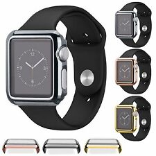 For Apple Watch 42mm Slim Full Body Cover Snap On Case + Screen Protector