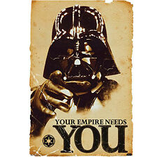 """Star Wars Empire Collector's Edition Silk fabric Cloth Poster/Art canvas 36x24"""""""