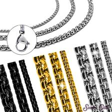 Jasseronkette Pea Chain Pea Chain Link Chain Stainless Steel Chain Necklace