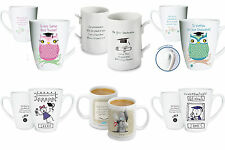 PERSONALISED GRADUATION MUG EXAMS CONGRATULATIONS CAP SCROLL OWL ME TO YOU GIFT