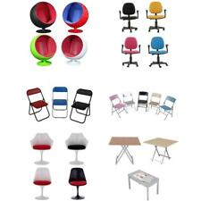 1:6 12'' Action Figure Doll Chairs Desk Table Furnitures For Hot Toys TTL ZY Toy