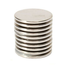 25mm x 2mm N35 Round Disc Fridge Magnet Super Strong Rare Earth Neodymium Magnet