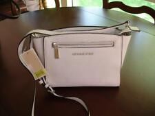 NWT Michael Kors Medium Sophie Messenger Crossbody Bag beautiful white leather