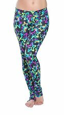 NEW Fitness Exercise Gym Workout Stretch Yoga Pants Leggings High Fold Waist NWT