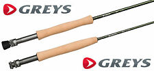 Greys GR30 Fly Fishing Rod 4 Piece Med-Fast Action Trout Rods + Rod Tube