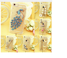 ,Luxury Diamond Hard Case Cover For IPhone 7 7 Plus Case For Iphone 4 4S 5 5S SE