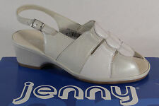 Jenny by Ara Sandals Sneakers Sling Real leather White NEW