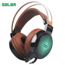 Salar C13 Wired Gaming Headset Deep Bass Game Earphone PC headphone with mic