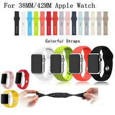 Watch Strap Silicone Sport Link Bracelet Watchband Case for Apple Watch iWatch