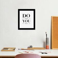 DO What YOU Love Sign Letters Print Canvas Painting Home Wall Art Decora Gifts