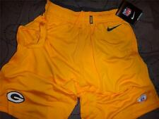 NIKE GREEN BAY PACKERS NFL FOOTBALL ON FIELD SHORTS SIZE 4XL 3XL 2XL MEN NWT $$