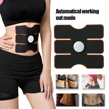 Wireless EMS Muscle Training Gear Arm Abdominal ABs Fitness Pad Body  Trainer