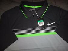 NIKE GOLF TOUR PERFORMANCE DRI-FIT POLO MOMENTUM STRIPE SHIRT SIZE M MEN NWT $90
