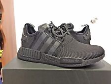 ADIDAS NMD R1 TRIPLE BLACK REFLECTIVE RIBBED 3M BY3123 NEW IN BOX AUTHENTIC