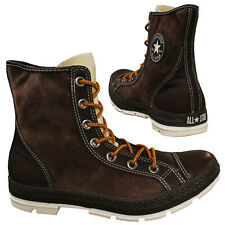 Converse All Star Ct Lady Outsider Hi Leather Brown Womens Boots 525903C D112