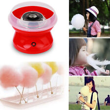 Fashion Electric Sugar Floss Machine Commercial Cotton Candy Maker Pink New