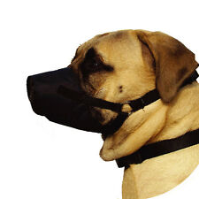 Dog Mouth Muzzle Training No Bark No Bite Adjustable Fast Fit Guardian Gear New