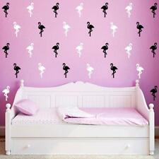 Novelty Removable Flamingo Wall Stickers Bedroom Room Decals Home Decor 1 Sheet