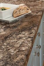 Granite Laminate Kitchen Worktops 38mm, Winter Carnival Effect, Edging Included