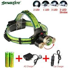22000 LM CREE T6 3X LED 18650 Bicycle Lamp Bike Light Rechargeable Headlight HZ
