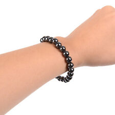 Fashion Men Women Magnetic Hematite Bracelet Pain Relief Energy Powerful Elastic