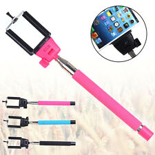 Wireless Bluetooth Handheld Extendable Self-Pole Monopod For Mobile Phone USB SS