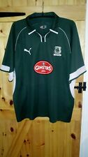 PLYMOUTH ARGYLE HOME FOOTBALL SHIRT BY PUMA SIZE XXL GINSTERS