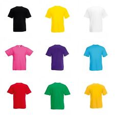 Fruit of the Loom Childrens/Kids Valueweight Short Sleeve T-Shirt