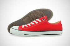 Converse All Star Chuck Taylor OX M9696 Red Canvas Shoes Medium (D, M) Mens