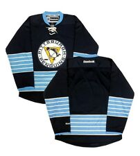 Pittsburgh Penguins Men's Reebok Navy Blue Blank Premier Jersey