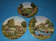 ROYAL WORCESTER COLLECTORS PLATES ROMANCE OF THE WATERWAYS