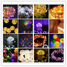 LED Christmas Wedding Xmas Party Decor Outdoor Indoor  Fairy String Light Lamp