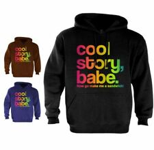 Cool Story Babe Hoodie jersey Shore bro Sandwich Tell it Again Sarcastic Color