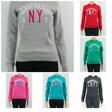 Aeropostale Woman's Junior Size Hoodie New Long Sleeve Puffy NY Logo