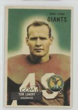 1955 Bowman #152 Tom Landry New York Giants Football Card