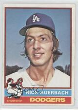 1976 O-Pee-Chee #622 Rick Auerbach Los Angeles Dodgers Baseball Card
