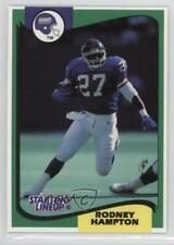 1994 Kenner Starting Lineup #ROHA Rodney Hampton New York Giants Football Card