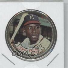 1964 Topps Coins #83 Hank Aaron Milwaukee Braves Baseball Card
