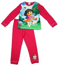 Girls Dora the Explorer & Boots Butterfly Cotton Pyjamas 18 Months to 5 Years
