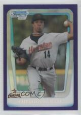 2011 Bowman Draft Picks & Prospects #BDPP73 Christopher Lee Houston Astros Card