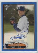 2012 Topps Chrome Rookie Autograph Blue Refractor #39 Jacob Turner Auto Card