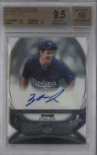 2010 Bowman Sterling #BSP-ZL Zach Lee BGS 9.5 Los Angeles Dodgers Auto Card