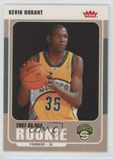 2007-08 Fleer Glossy 212 Kevin Durant Seattle Supersonics Rookie Basketball Card