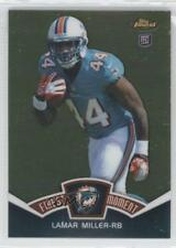 2012 Topps Finest Moments FM-LM Lamar Miller Miami Dolphins Rookie Football Card