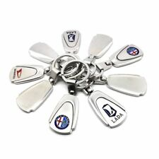 Car Logos Fashion New Titanium Key Chain Car Keychain Ring Keyfob Metal Keyrings