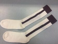 Pearsox Athletic All In One Knee High Stirrup Socks - White/Maroon